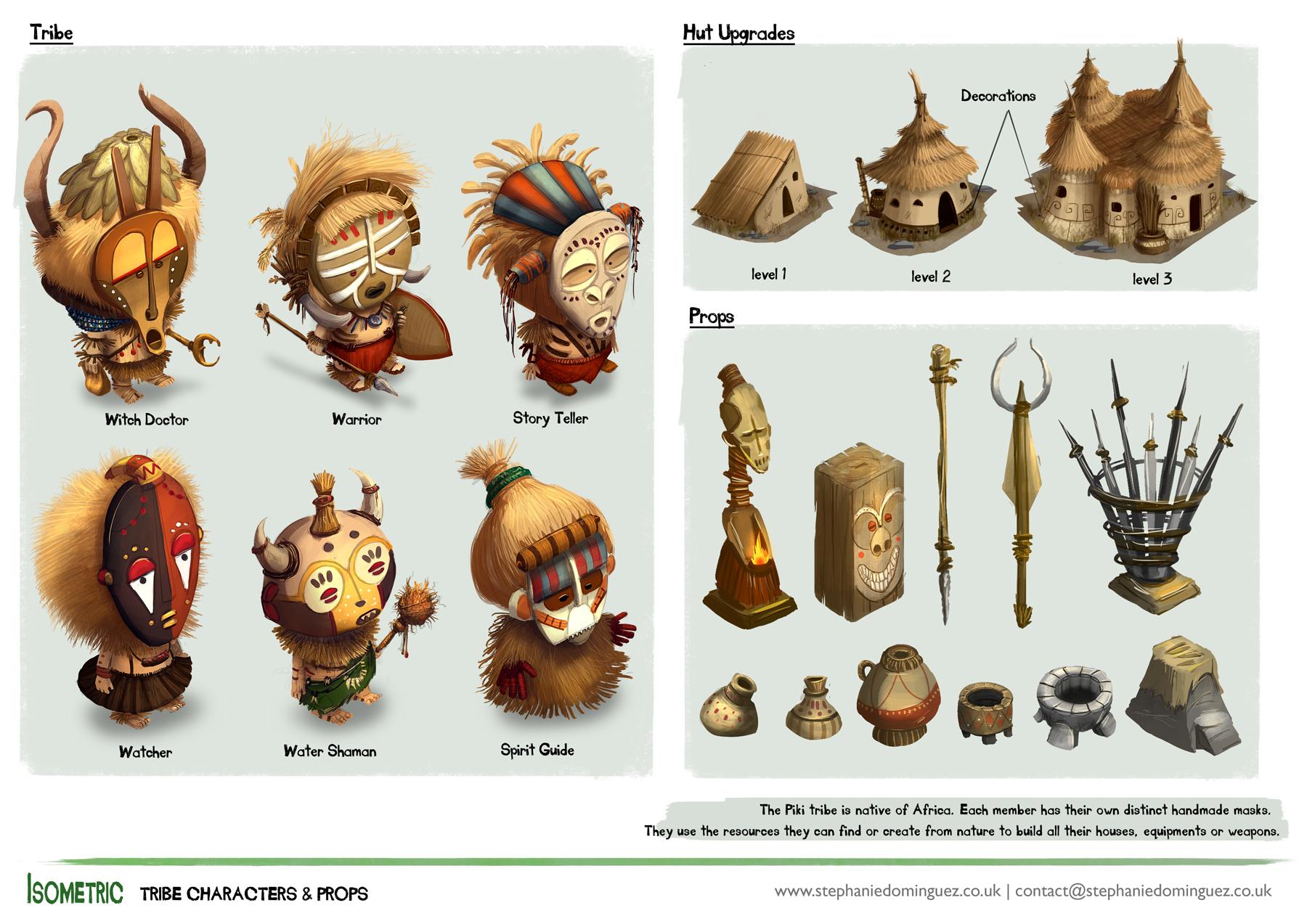 Isometric Characters Vancouver Animation School Alumni