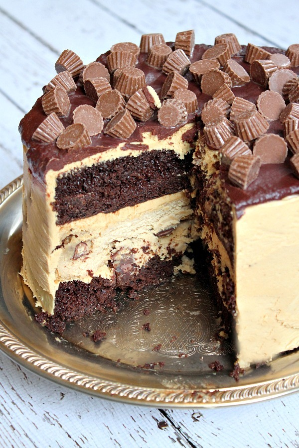 ... chocolate peanut butter cup cheesecake cake chocolate cake with peanut